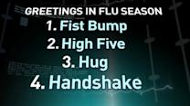 Real Answers About Fighting the Flu: Handshake, Hug or High Five?