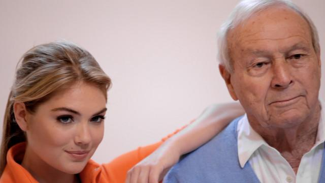 Golf Digest Behind the Scenes - Kate Upton & Arnold Palmer Welcome You Back to Small Ball-Pt. 1