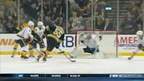 Johnny Boychuk rips wrist shot past Mazanec