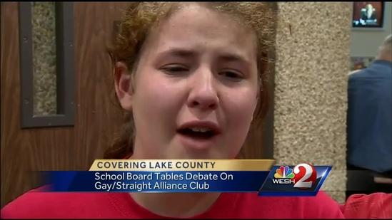 No decision on gay club issue from Lake County schools
