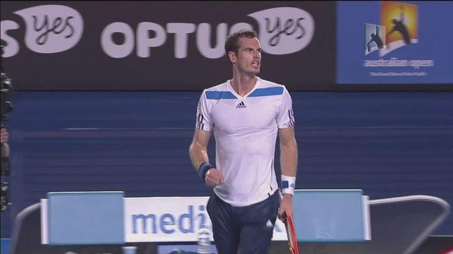 Murray wins but shock exit for Del Potro