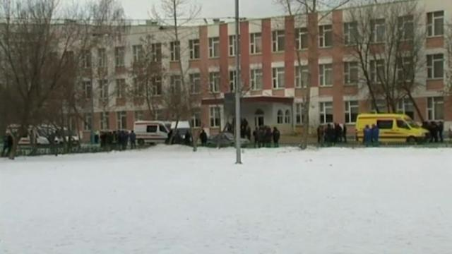 Moscow school gunman neutralised