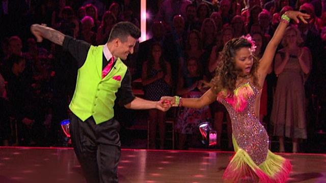 Christina Milian and Mark Ballas Get the Boot From 'DWTS'