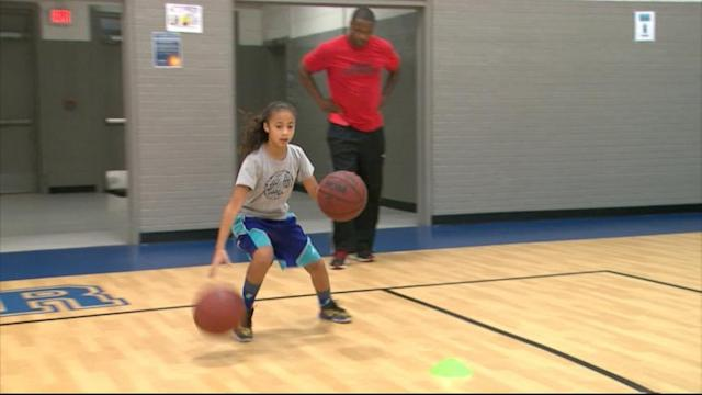 Girl, 9, 'Recruited' for College Basketball