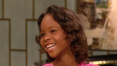 'Beasts Of The Southern Wild's' Quvenzhane Wallis Talks Award Recognition And Her Favorite Actress