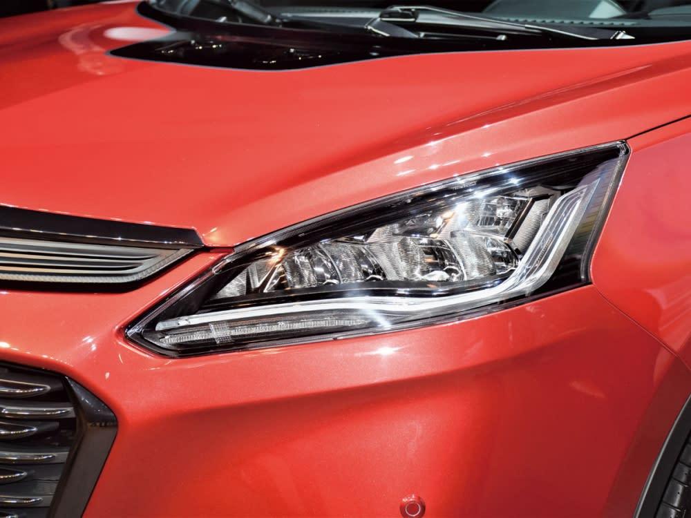 LED頭燈組整合高辨識度日行燈,成就寬廣照耀視野。
