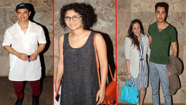 Amir- Kiran, Imran- Avantika at screening of Star Trek into Darkness