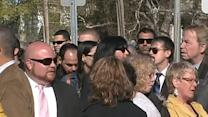 Krystle Campbell wake: Long lines for bombing victim