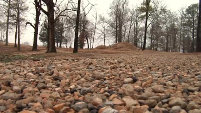 One-thousand unmarked graves found on Mississippi campus
