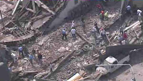 The latest on the Philadelphia building collapse