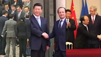France courts China trade