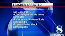 Seaside elementary school teacher faces child porn charges