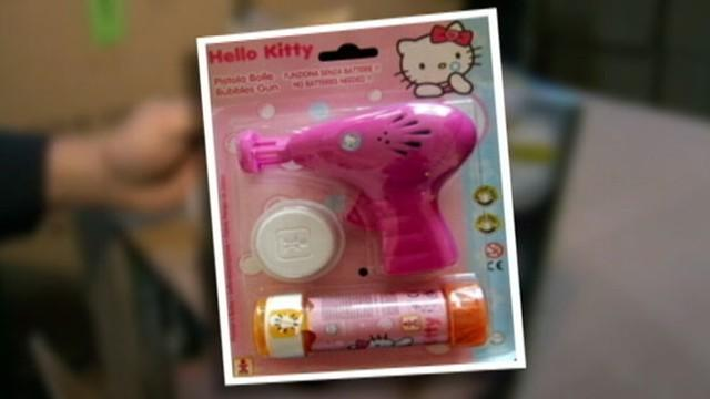 Hello Kitty Bubble Gun Gets 5-year-old Suspended