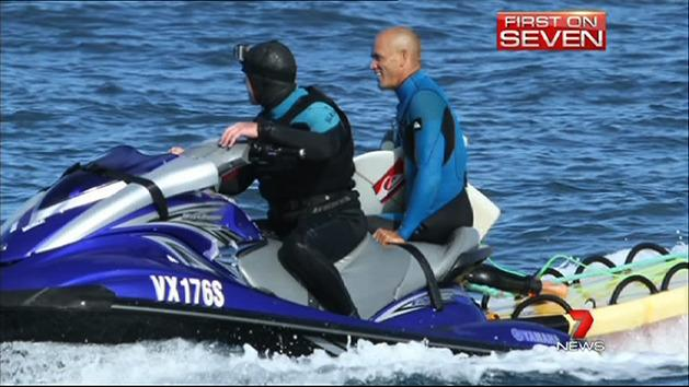 Kelly Slater wowing SA crowds