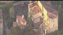 Sinkhole swallows a villa at the Summer Bay Resort in Clermont, Fla.