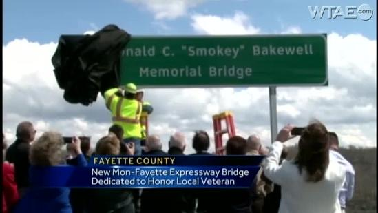 Mon-Fayette Expressway Bridge dedicated to veteran