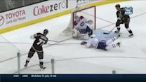 Kopitar's backhanded dish sets up Carter