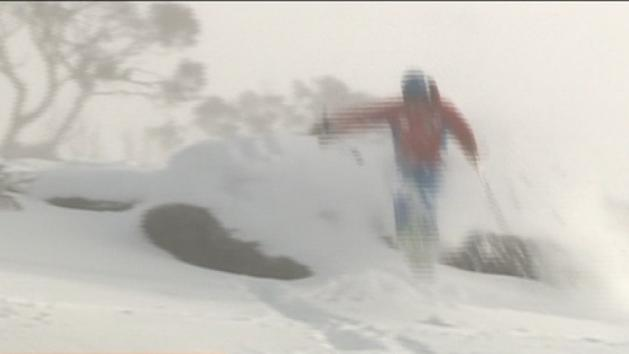 Massive dump of snow for skiers