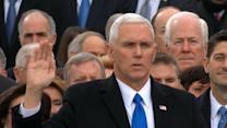 Mike Pence Takes the Oath of Office
