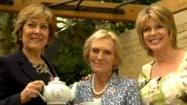 Mary Berry, Lynda Bellingham and Arlene Phillips talk at this year's RHS Chelsea Flower Show
