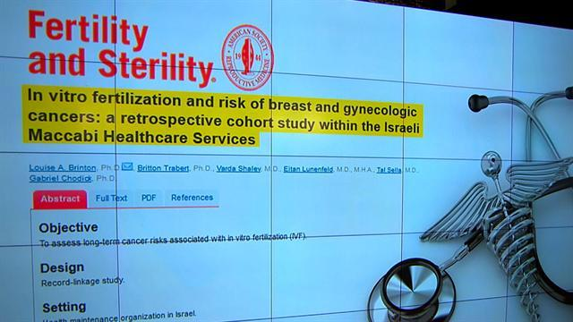 Study: No increased cancer risk from IVF