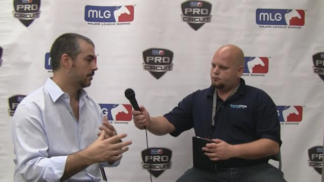 Interview with Sundance DiGiovanni CEO and Co-Founder of Major League Gaming at MLG Dallas 2012
