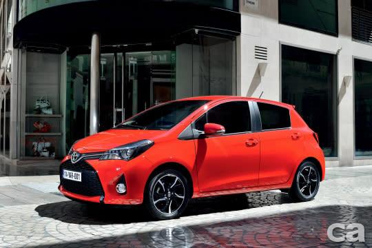 Toyota在歐洲表現並無特別突出,僅Yaris在希臘獲得銷售冠軍。