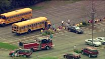 School buses collide in Des Plaines