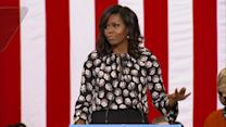 Clinton Campaigns With the First Lady: 'Is There Anyone More Inspiring Than Michelle Obama?'
