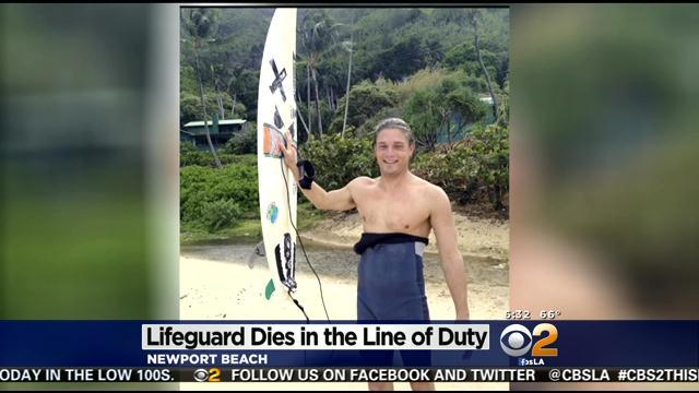 Newport Beach Lifeguard Drowns While Rescuing Man In Rough Waters