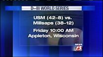 USM Ready For First Foe at World Series
