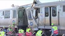 Trains collides during busy morning rushhour; Dozens injured