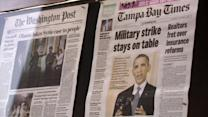 Americans accept Obama's Syrian concerns, still unsure about action