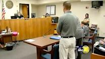Teacher convicted of sex with student sentenced