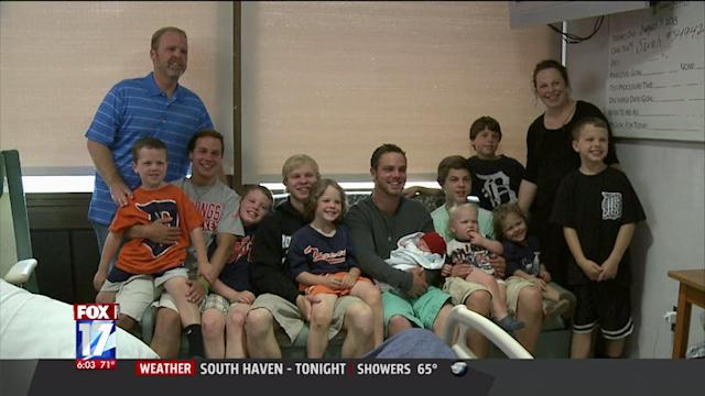 Family Hoping For Girl Welcomes 12th Boy