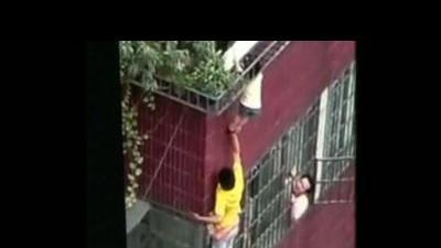 Child rescued from deadly fall in China