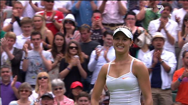 Highlights: Ivanovic v Bouchard