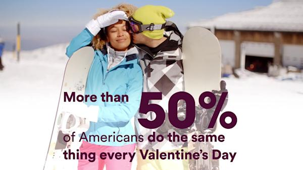 Americans Are Getting Bored Of Valentine's Day