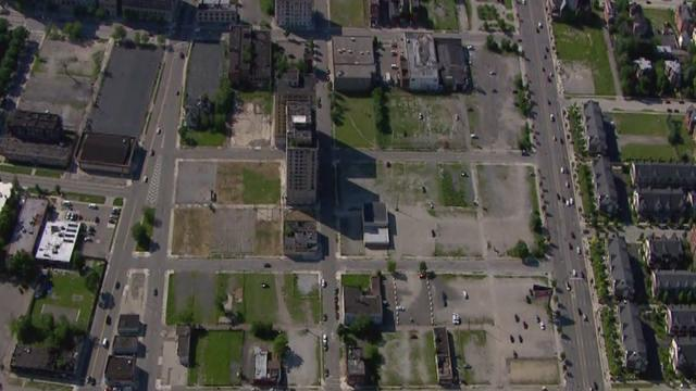DETROIT FLYOVER: Chopper 7 shows site of proposed new Red Wings arena