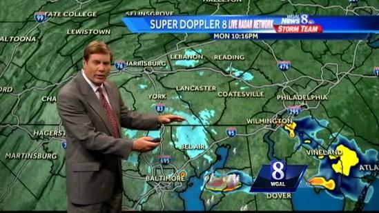 More showers possible Tuesday