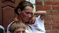 Families Flee Hard-hit Eastern Ukraine
