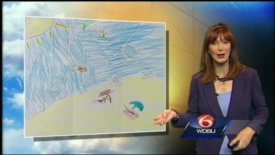 Margaret's Weather Picture for July 25