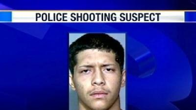 Police Shooting Suspect Caught
