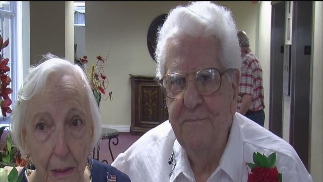 Couple celebrates 70th anniversary on Fourth of July