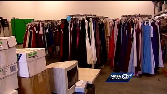 Church gives away prom dresses