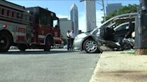 RAW: Fire truck involved accident