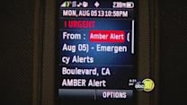 Valley residents receive first statewide Amber Alert