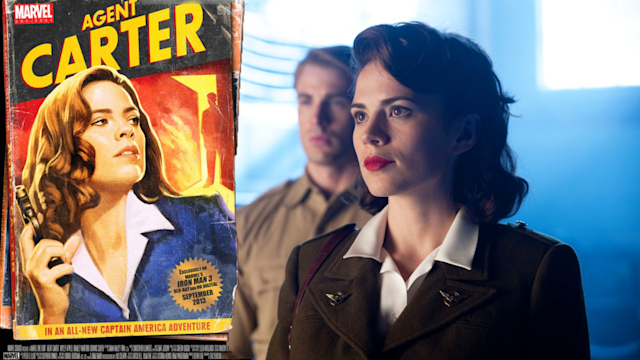 Agent Carter Marvel Comic Con Short Film