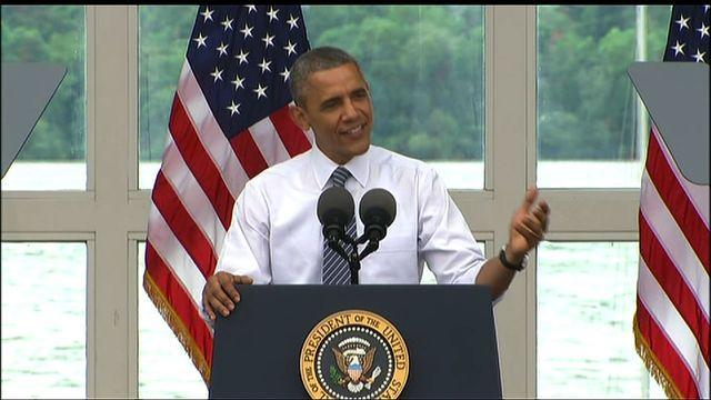 """Obama mocks Republicans: They're suing me """"for doing my job"""""""