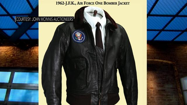 JFK bomber jacket sells for more than $500K at auction